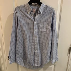 Men's Brooks Brothers Multi-Color Button-Up!